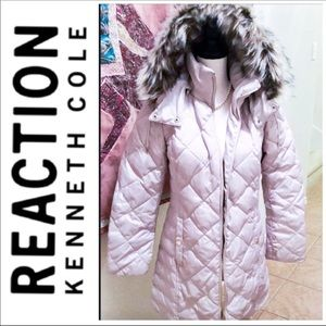 Kenneth Cole Reaction Down Filled Puffer Coat